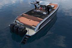 Le VQ40 en version hors-bord