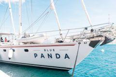 Le Blue Panda, le voilier du WWF