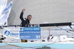 Adrien Hardy, 1er de la 2e étape de la Solitaire du Figaro