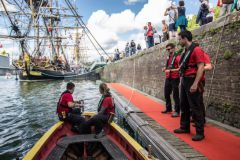 L'Hermione, bateau star de l'Armada de Rouen