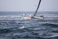 Tanguy Le Turquais (Queguiner - Kayak) échoué
