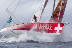 Record de l'Atlantique Nord en vue pour Alan Roura sur son IMOCA