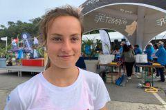 Jeanne Larnicol, 3e au Championnat d'Europe d'Optimist