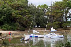 Raid nautique entre Houat et Hoëdic pour le rassemblement Tricat