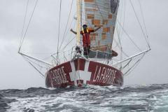 Record de l'Atlantique Nord battu pour Alan Roura