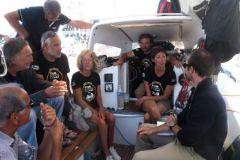 Les équipages de 'Naviguons ensemble avec nos différences'
