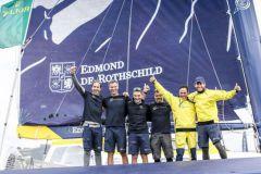 Victoire du Maxi Edmond de Rothschild