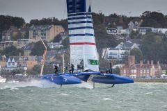 L'équipe française du circuit Sail GP