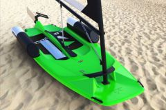 Maverick, un dériveur, paddle, windsurf tout en un