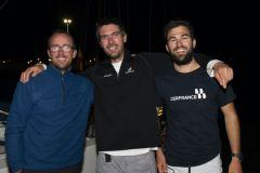 François Jambou, Axel Tréhin et Tanguy Bouroullec
