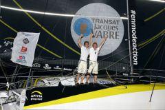 Charlie Dalin et Yann Eliès