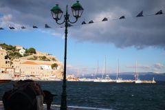 Marina d'Hydra en Grèce
