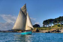 Le voilier Marie-Georgette, un courrier de l'île de Batz