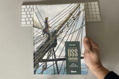 USS Constitution, la nouvelle série maritime de Franck Bonnet
