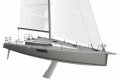 Le Pogo 44, un nouveau croiseur rapide bientôt à l'eau
