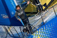 Pur bonheur de navigateur, Arnaud Boissières partage son plaisir d'être en mer