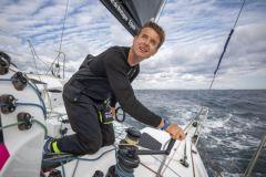 Record de l'Atlantique Nord en solitaire : Alan Roura raconte ses impressions