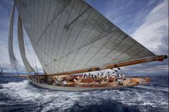 Moonbeam IV, sans doute le plus beau voilier de tradition jamais construit