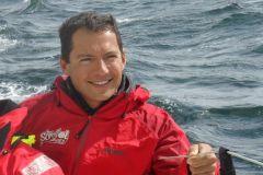 Romain Attanasio nous décrit sa joie au passage du Cap Horn