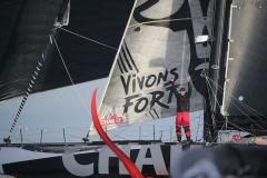 Vendée-Arctique-Les Sables-d'Olonne, une belle victoire pour Jérémie Beyou