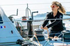 Alexia Barrier, la 1re Méditerranéenne à se lancer dans le Vendée Globe