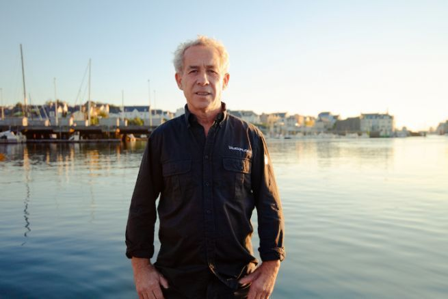 La Route du Rhum 2022 pour Roland Jourdain sur un bateau en fibre de lin