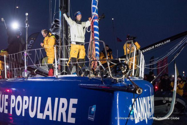 Victoire d'Armel le Cléac'h sur le Vendée Globe 2016
