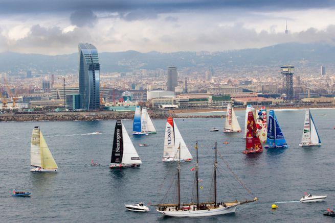 Départ de la Barcelona World Race