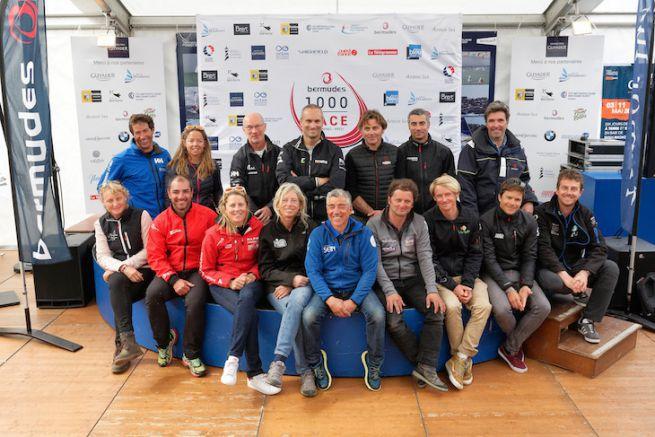Les skippers IMOCA de la Bermudes 1000 Race
