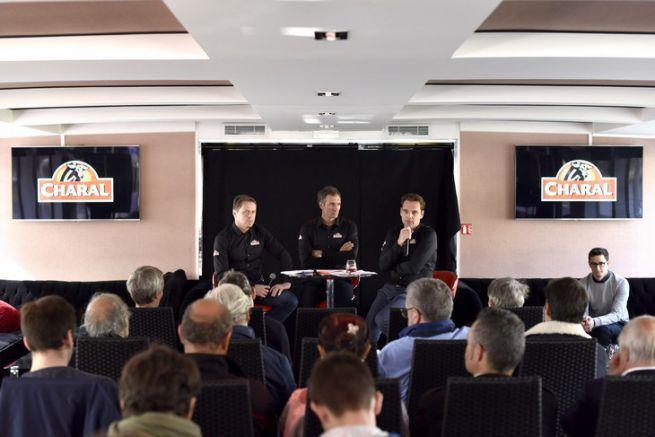 Conférence de presse de Jeremie Beyou