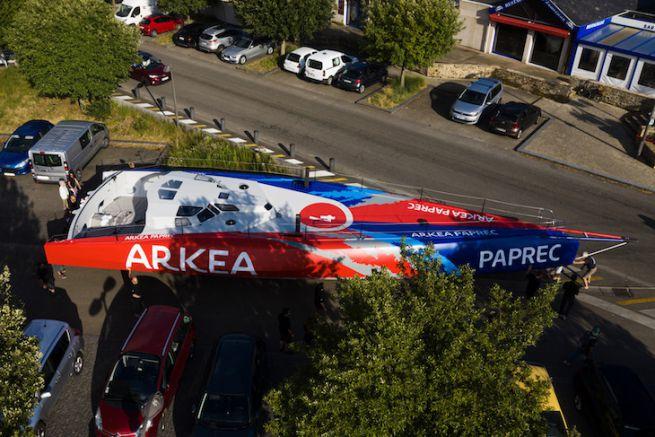 Sortie de hangar pour Arkea Paprec