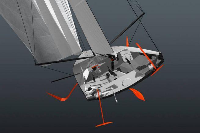 Le nouveau monocoque à foils de la Volvo Ocean Race