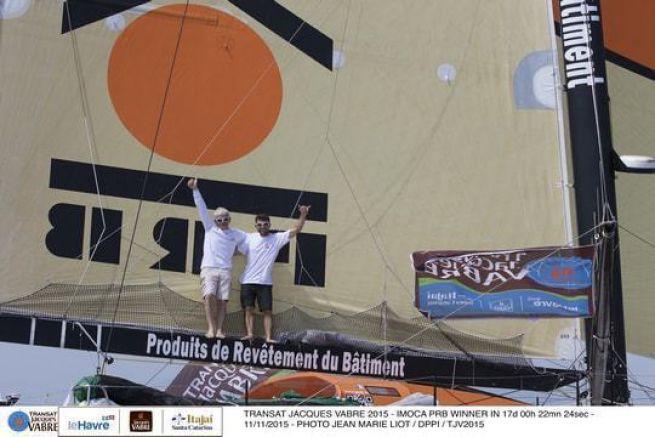 Vincent Riou et Sébastien Col sur PRB
