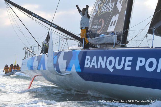 Armel Le Cléac'h, vainqueur du Vendée Globe 2017