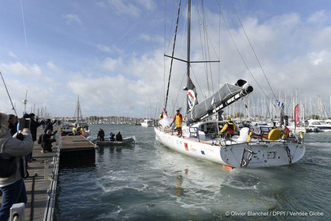 Didac Costa reprend le départ du Vendée Globe