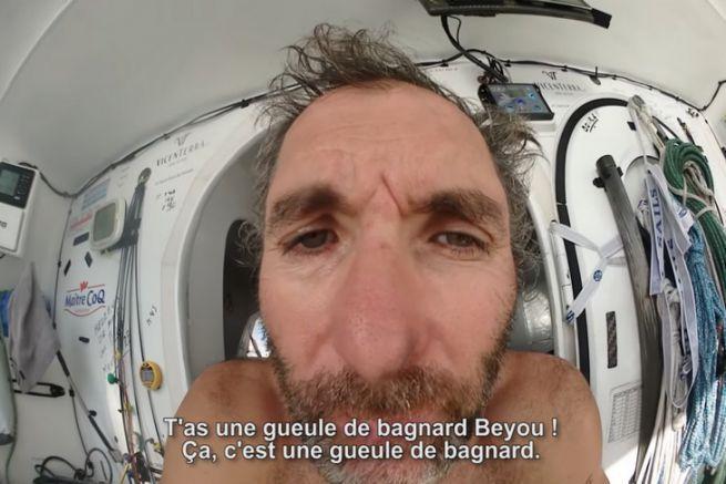 Jeremie Beyou en plein doute sur le Vendée Globe