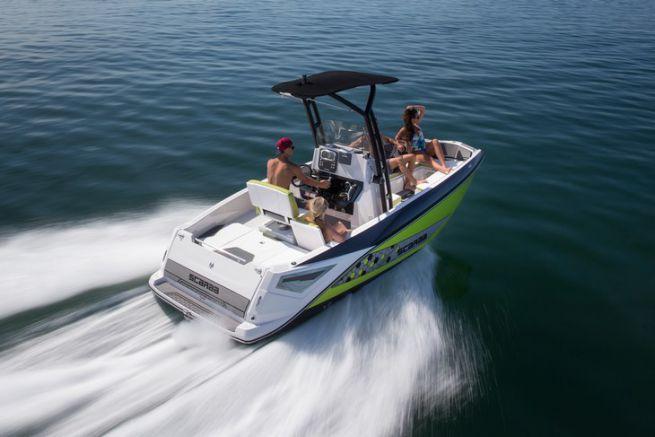 Open 195 de Scarab Boat