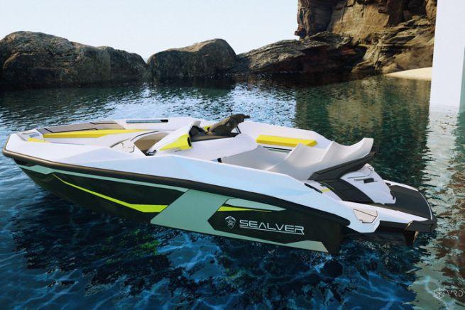 Le waveboat 444, nouveau modèle entrée de gamme de Sealver