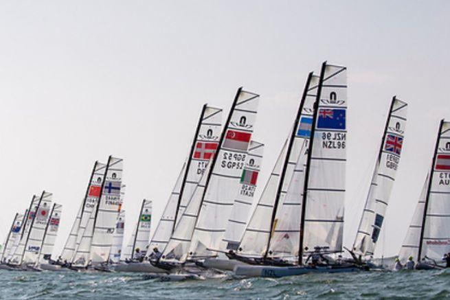 L'équipe de France de Voile aux Jeux Olympiques de Rio 2016