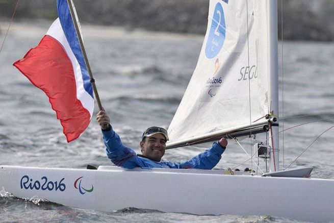 Damien Seguin aux Jeux de Rio 2016