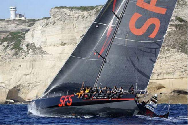 SFS - Lionel Péan - Record tour de Corse 2014