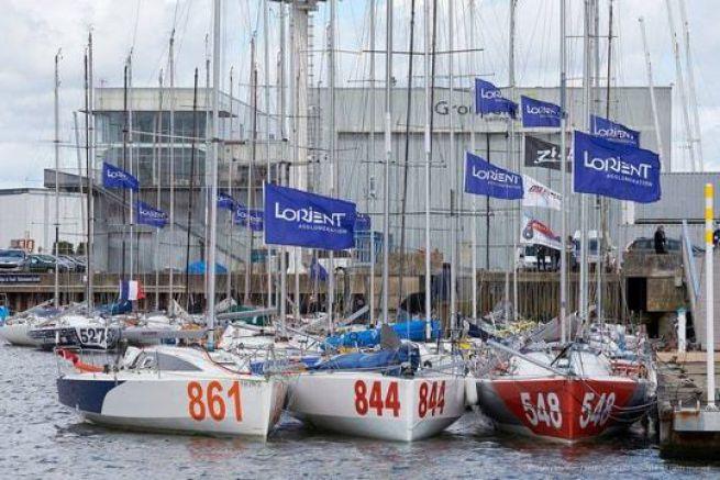 Les Mini 6.50 prêts à partir pour la Lorient Bretagne Sud Mini 2016