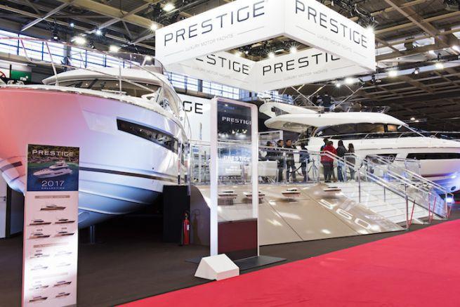 Le stand Prestige au Nautic 2016