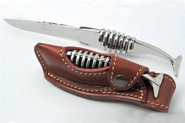 Couteau Farol Cachalot Squelette