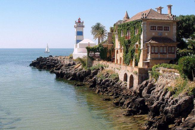 Le Phare Santa Marta au Portugal