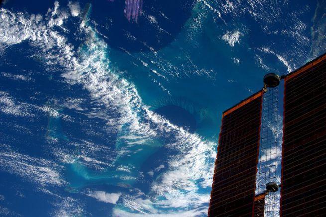 Le bleu de la mer n'est jamais homogène, surtout aux Caraïbes