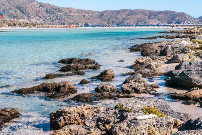 Plage d'Elafonissi en Grèce, 9ème du classement
