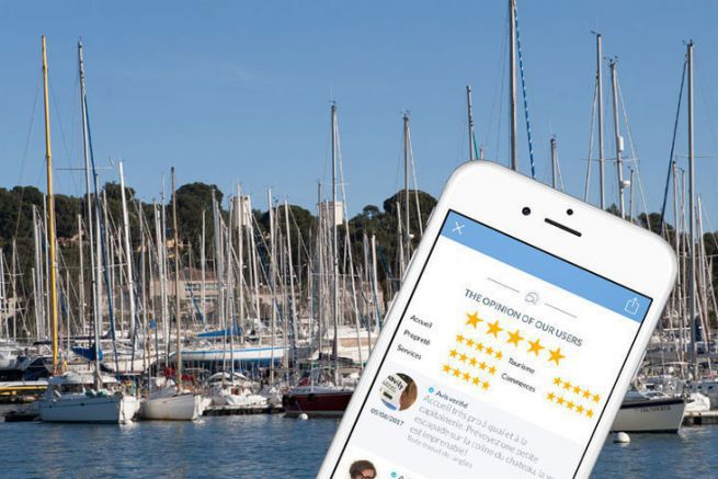 Navily, une application qui permet de noter les ports