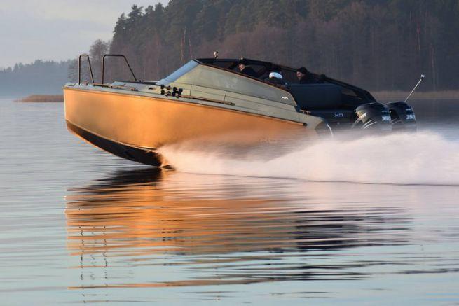 Le XO Cruiser en navigation