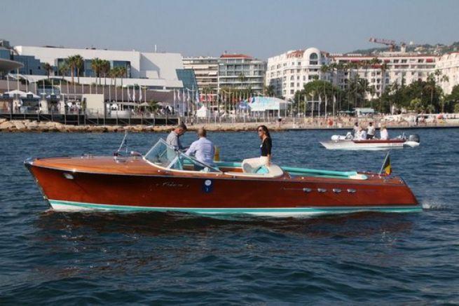 Riva Aquarama au concours d'élégance du Cannes Yachting Festival
